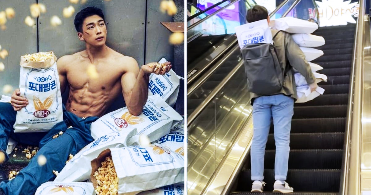 South Korean Cinema Launched Cement-Sized Popcorn, And People Love It