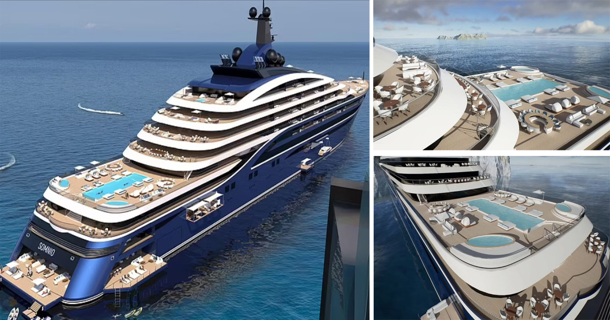 The World's Largest Yacht 'Floating Condo' Unveiled, And People Can Buy An Apartment For $11m On It