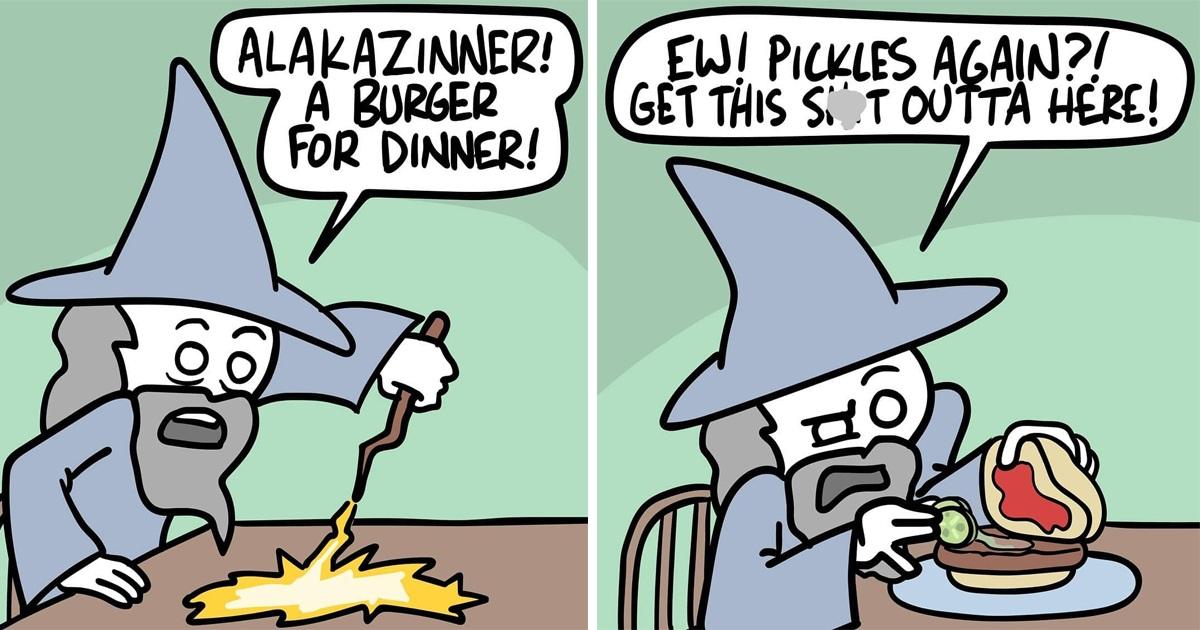 31 Hilarious Comics By Ryan Hudson That Draw Secret & Dark Side Of Things