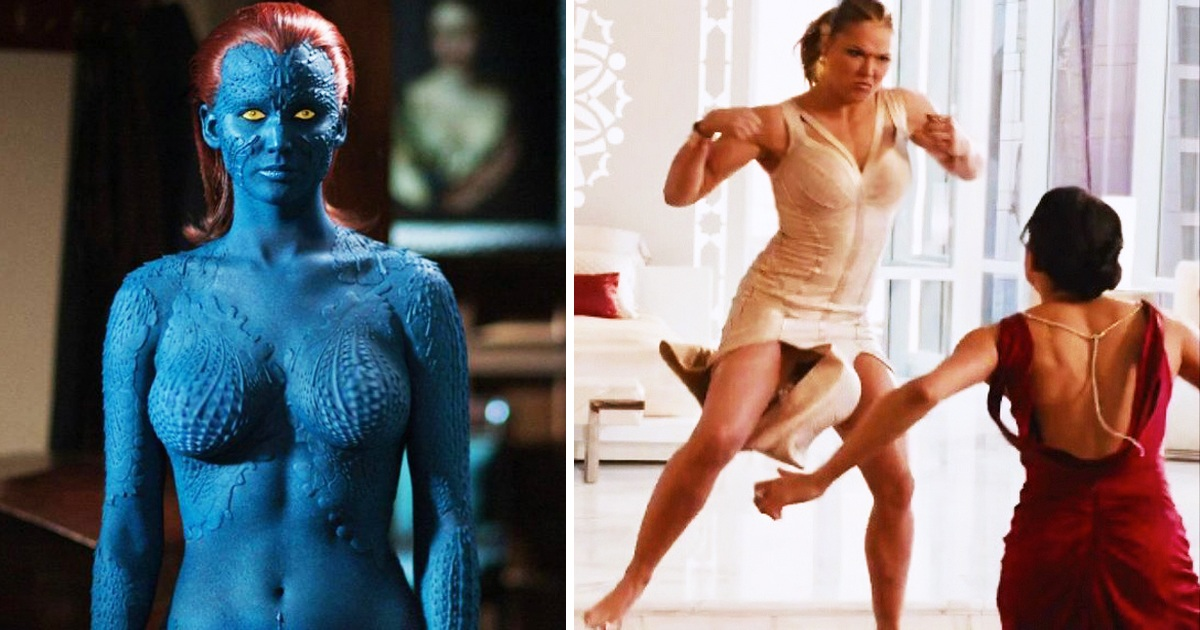 17 Unrealistic Female Outfit Tropes In Action Movies That Don't Make Sense