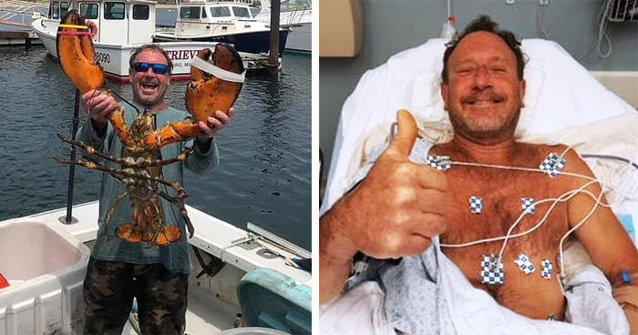 Lobster Diver Swallowed Whole By Hungry Whale And Then Spat Out