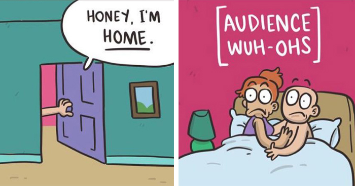 30 Hilarious Comics From 'Cphigson' That Draw The Absurdity Of Our Lives