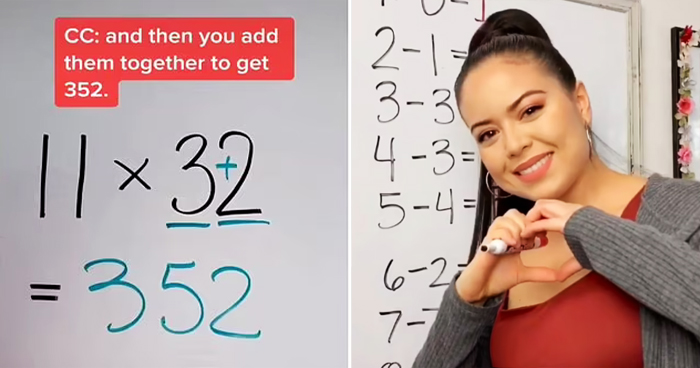 Math Teacher Shares Easy Way To Multiply Any Number By 11 Without Calculator