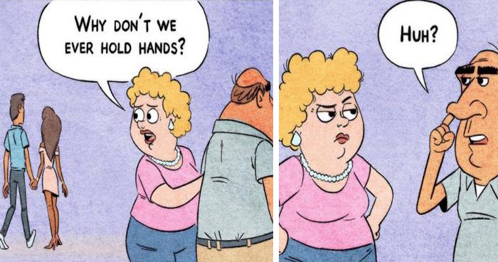 Hilarious Comics By Toonhole John