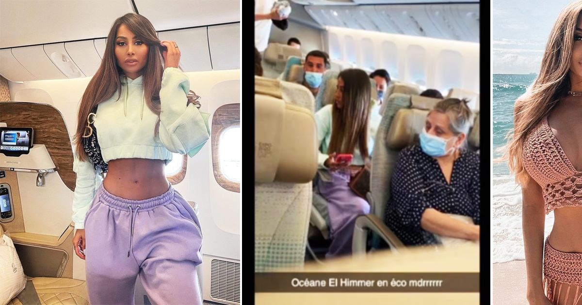 Influencer Caught Posing In Business Class Then Returned To Her Seat In Economy