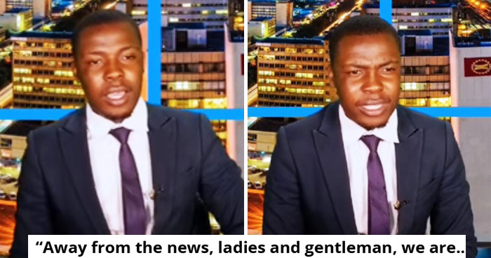 Zambian TV Anchor Stopped Live Show To Complain That He Has Not Been Paid
