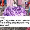 Mom Slammed Target For Selling Crop Tops To Young Girls