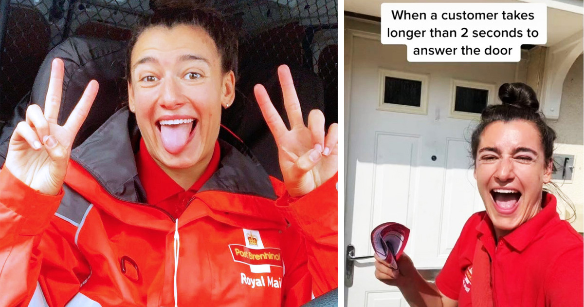 Royal Mail Refuses To Fire Its Poster Girl Who Couldn't Wait More Than 2 Seconds