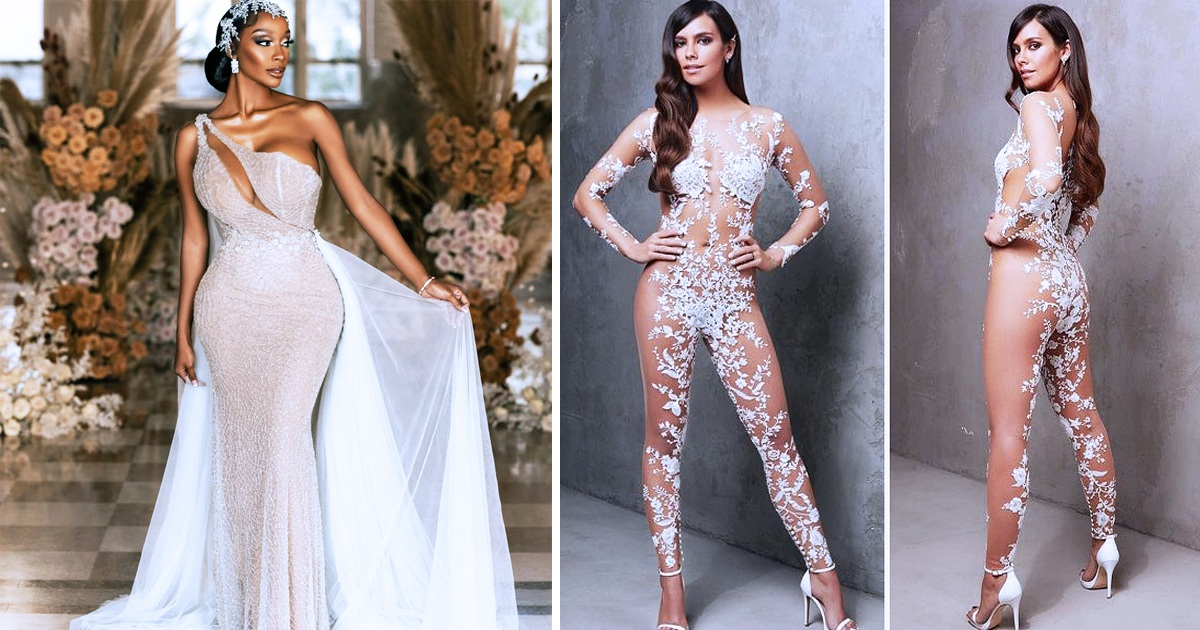 30 Of The Most Daring Wedding Dresses Brides Have Ever Worn
