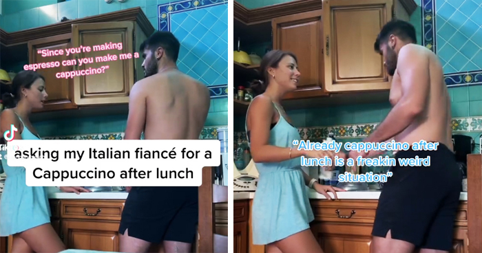 American GF Keeps Trolling Her Italian BF By Breaking 'Italian Rules' And His Reactions Are Hilarious