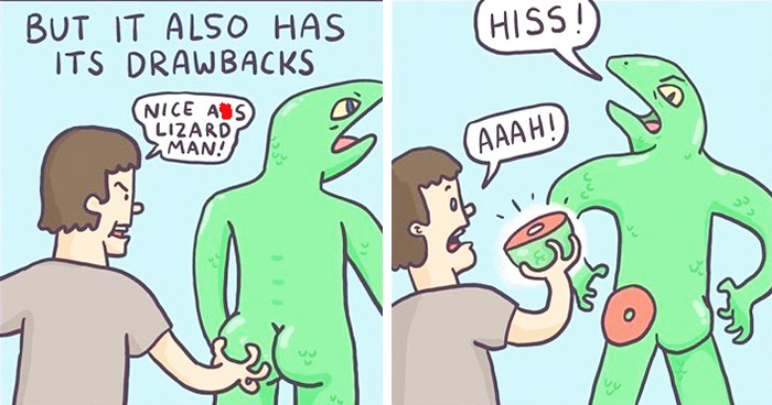 Hilarious Comics By 'Skeleton Claw'