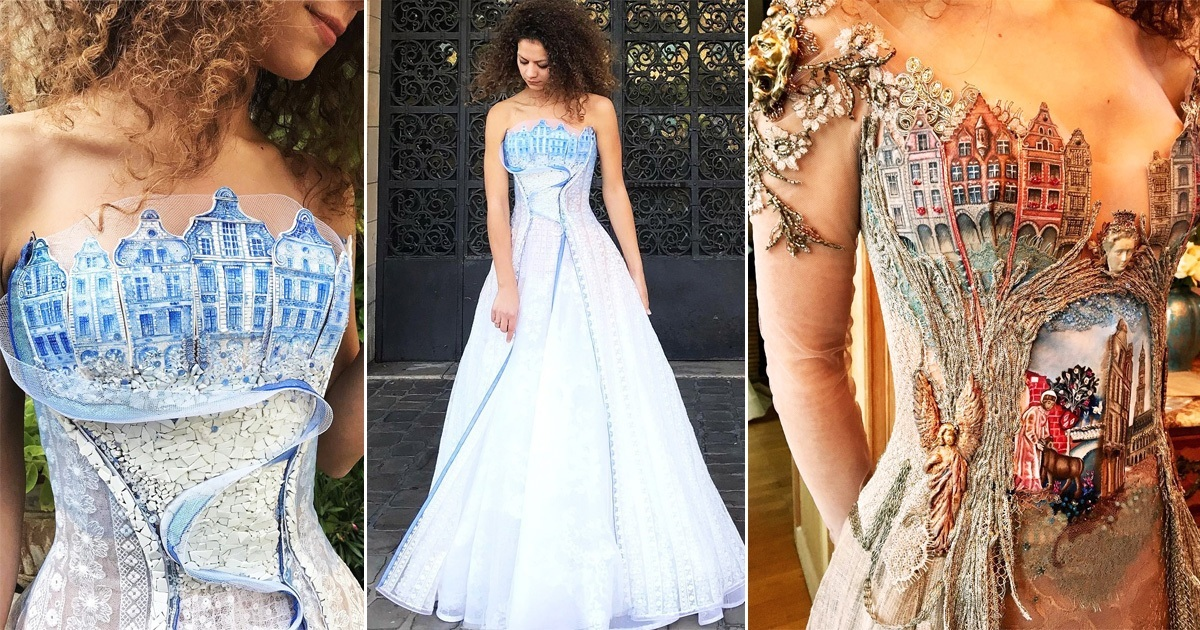 French Designer Makes Most Stunning Dresses That Look Straight Out Of Fairy Tales