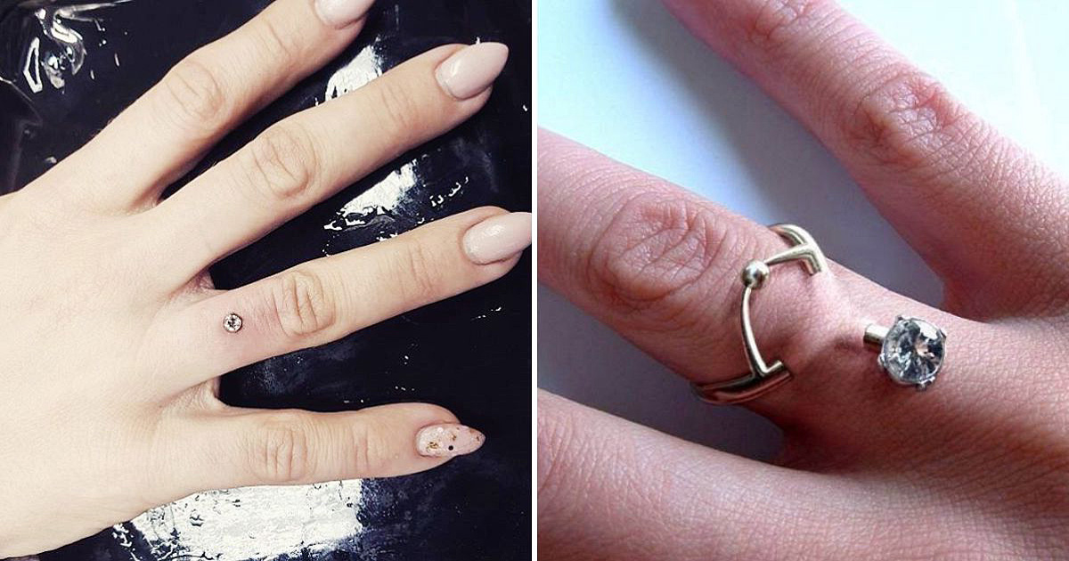Engagement Piercings Are Trending As People Are Ditching Traditional Rings