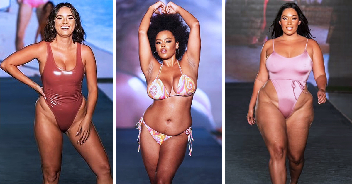 Sports Illustrated Took Diversity To The Runway By Casting Women Of Different Age & Body Types
