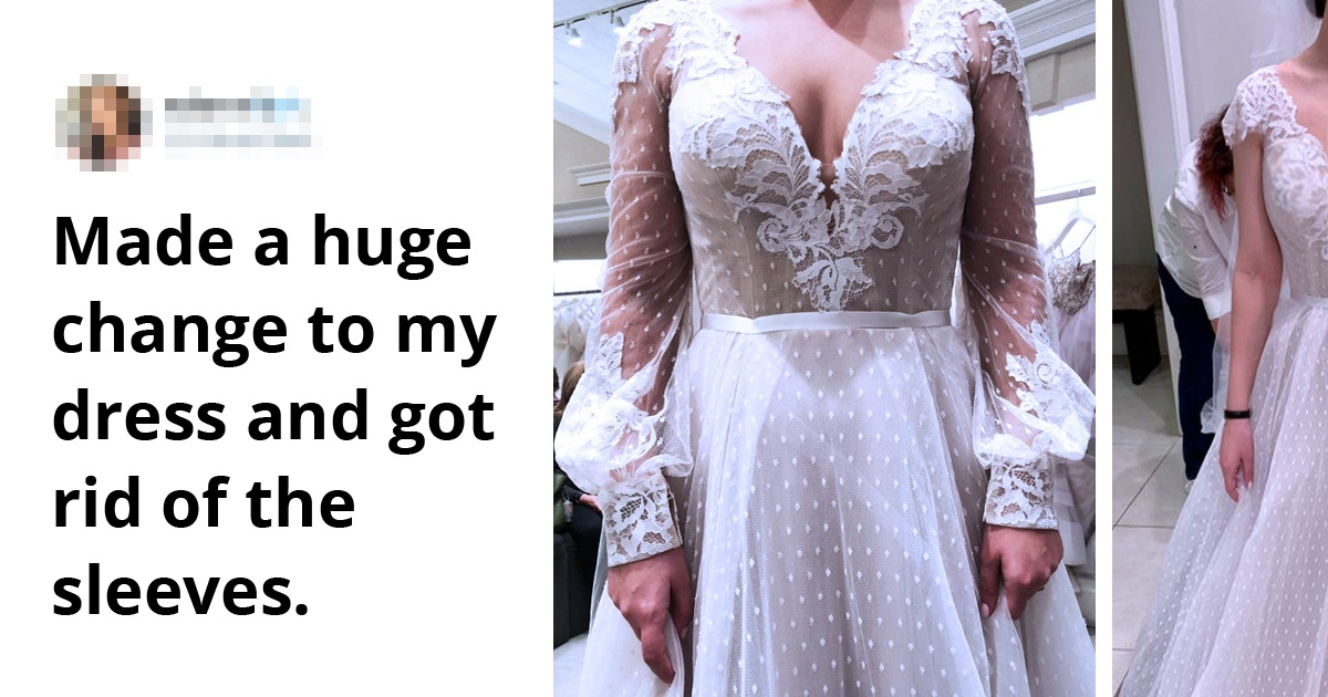 20 Brides Who Turned Their Normal Wedding Dresses Into Masterpieces