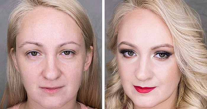 15 Women Who Gave Face-Lifting Makeup A Try And It Turned Them Into New Look