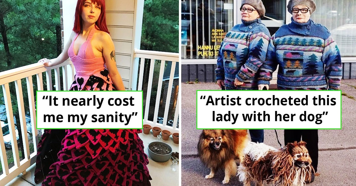 25 Awesome Crochet Works That Will Amaze Everyone