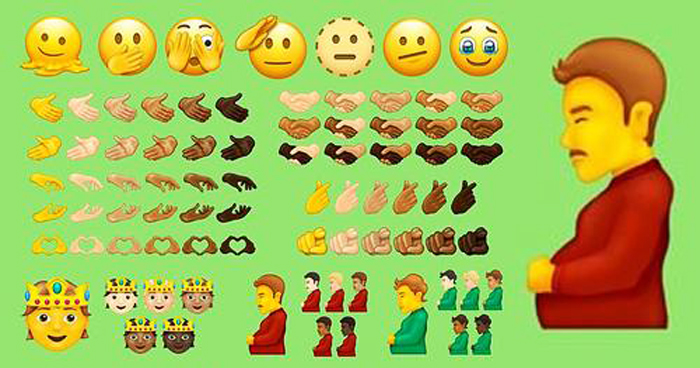 New Emojis To Include 'Pregnant Man' As Latest Designs Are Unveiled