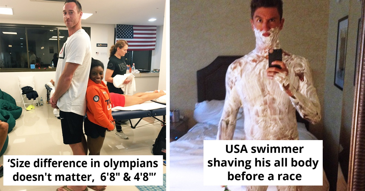 30 Incredible Pics Of Olympians Showing Just How Amazing The Human Body Is