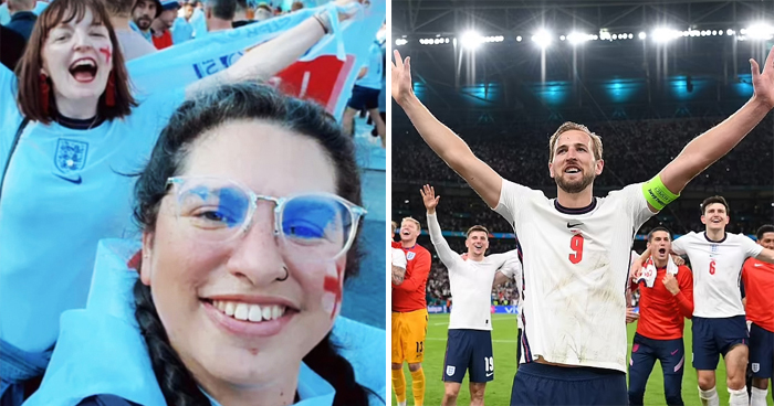 Woman Is Sacked For 'Pulling A Sickie' After Her Boss Sees Her On TV At England's Semi-Final Win