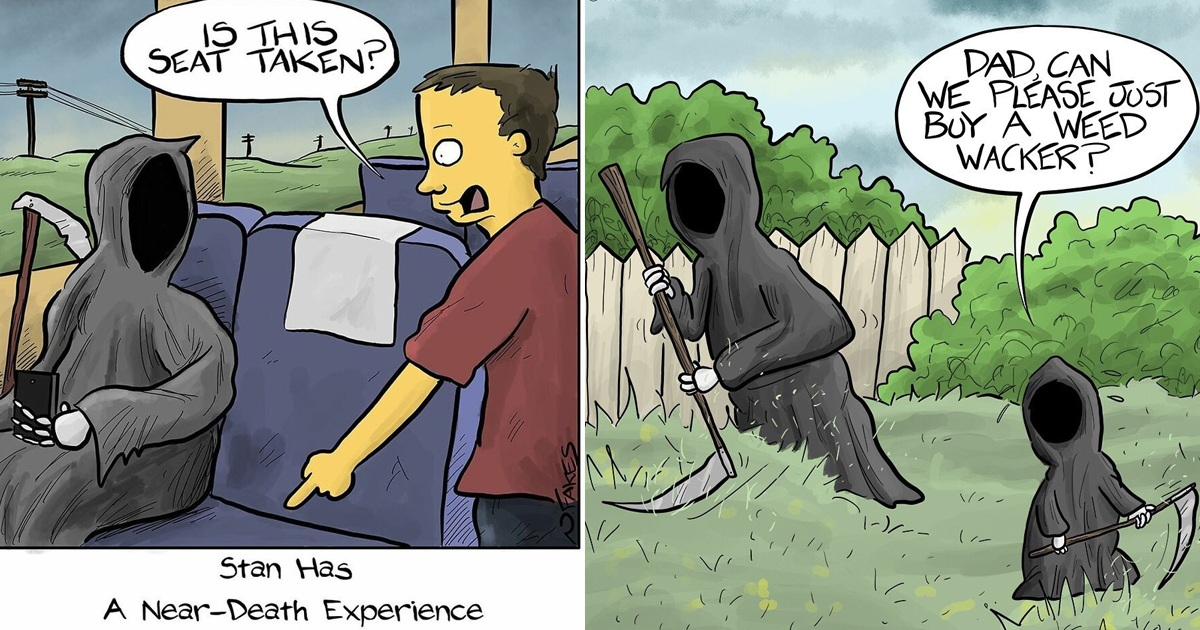 27 Funny One-Panel Comics By Nate Fakes With A Sudden Twist