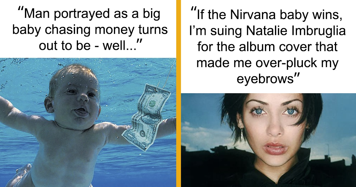 Nirvana 'Nevermind' Baby Just Turned 30 And Suing The Band Over $2M For 'Trauma', Became Memes
