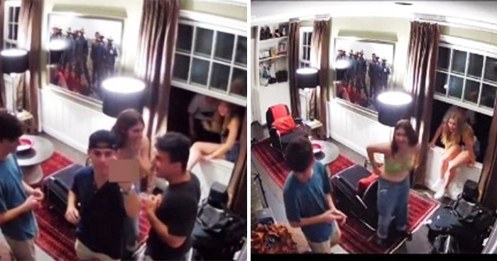 Dad Caught His Partying Son Trying To Sneak Friends Back Into The House With An Epic Alexa Prank