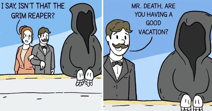 Artist's 25 Witty Comics That Are Just Too Strange To Not Laugh At