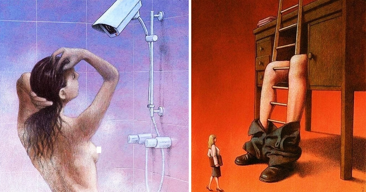 Artist's 20 Clever Illustrations With An Ironic Twist