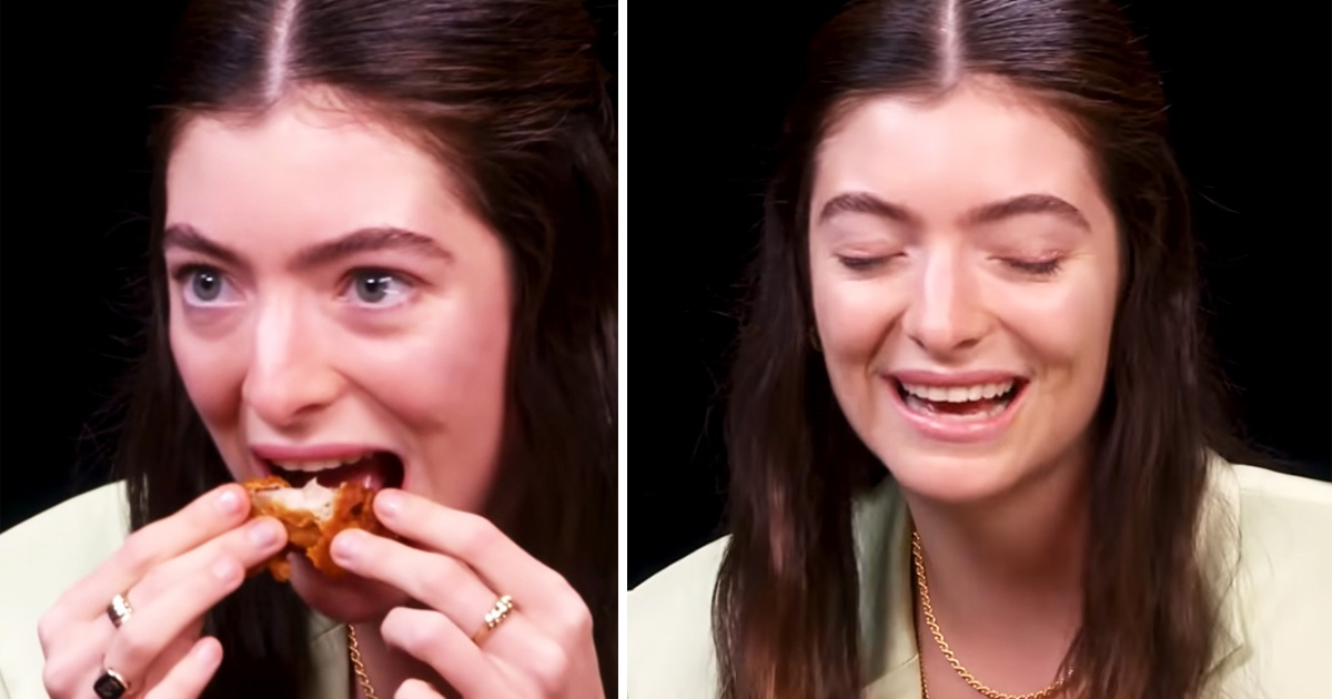 The Internet Can't Get Over How Lorde Downed Her Hot Wings Like Its Nothing