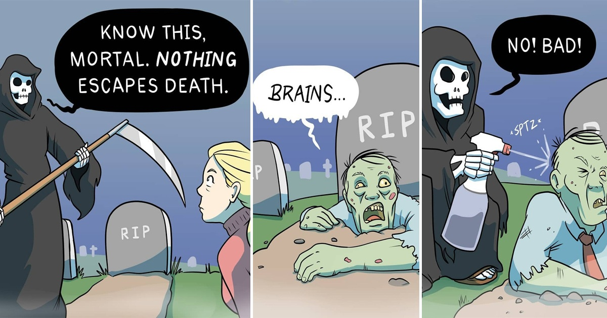 25 Hilarious Comics By 'Inky Rickshaw' With A Clever Twist