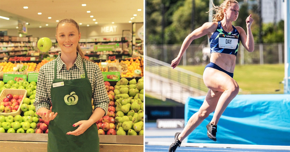 Athlete, 21, Had No One To Sponsor Her Trip To The Olympics, So She Worked At A Supermarket