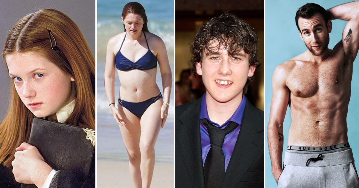 20 Pics Show How Harry Potter Stars Look Now