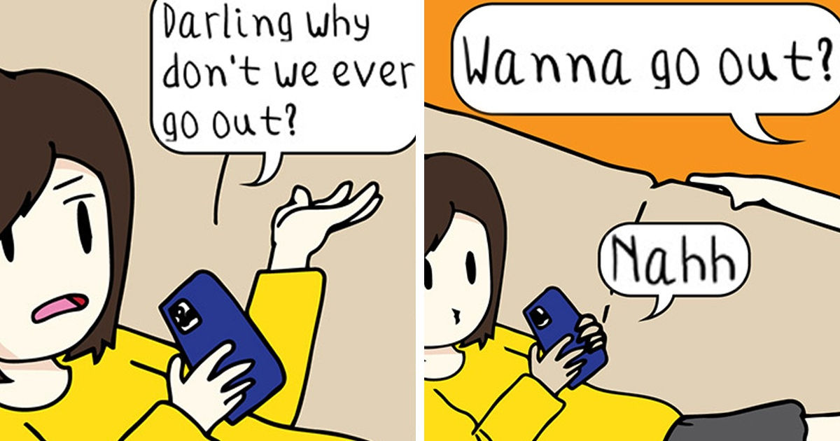 Malaysian Artist's 18 Witty 'Slice Of Girly Life Comics' That Are Way Too Relatable