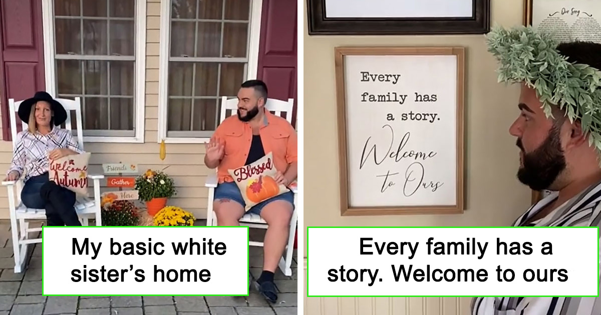 """Guy Shows His """"Basic White Sister's"""" Home Covered With 'Live Laugh Love' Life Signs And Its Hilarious"""