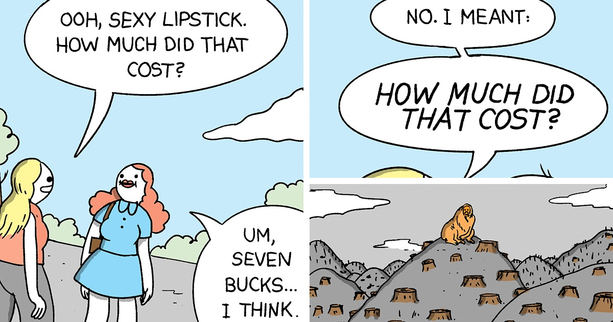 Artists And Celebs Bonded To Raise Awareness About Endangered Animals By 9 Candid Comics