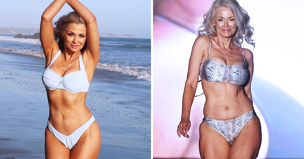 Model Hits The Catwalk At 57 And Proves Age Is Just A Number