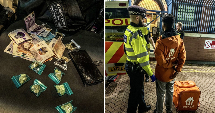 Fake Just Eat Driver Caught With Drugs In His Delivery Bag Instead Of Food