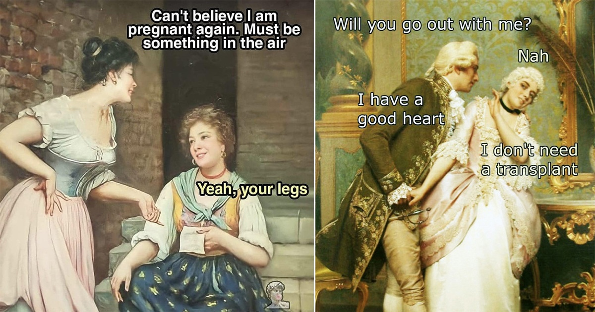30 Witty Classical Memes That Every Tired Soul Can Really So Much With