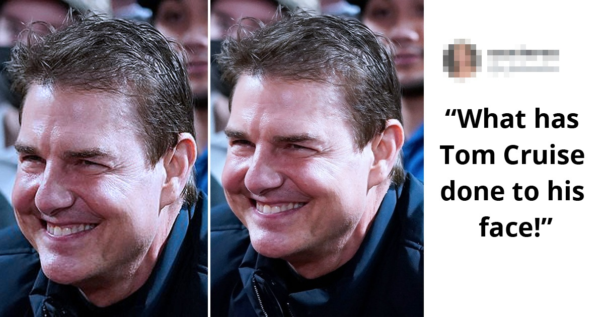 Tom Cruise, 59, Sparks Twitter Reactions As He Looks Unrecognizable In Rare Outing At Game