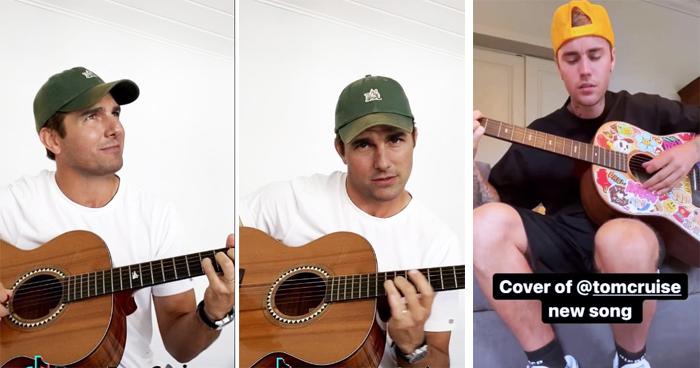 Justin Bieber Hilariously Duped By Deepfake Guitar-Playing Tom Cruise