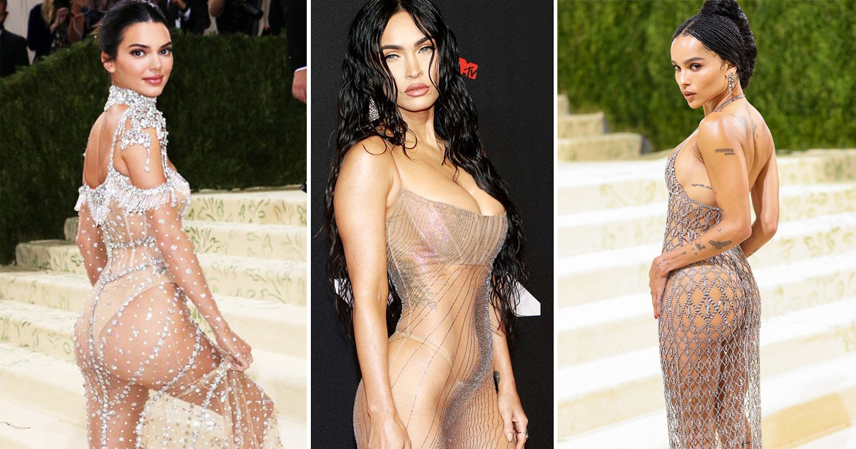 40 Times Celebs Rocked The Most Wild Sheer Dresses Ever