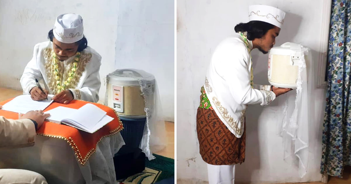 Man Marries Rice Cooker, Divorces It Four Days Later
