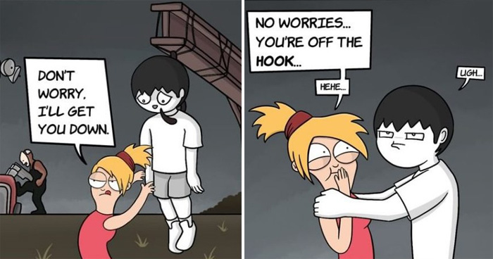 25 Humorous Comics By 'Bathpoopoo' With Unexpected Endings