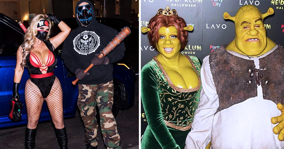 30 Celebrity Couples Who Won The Halloween Costume Game