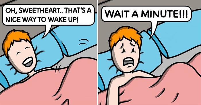 Artist's 20 Dark Comics With Unexpected Twists