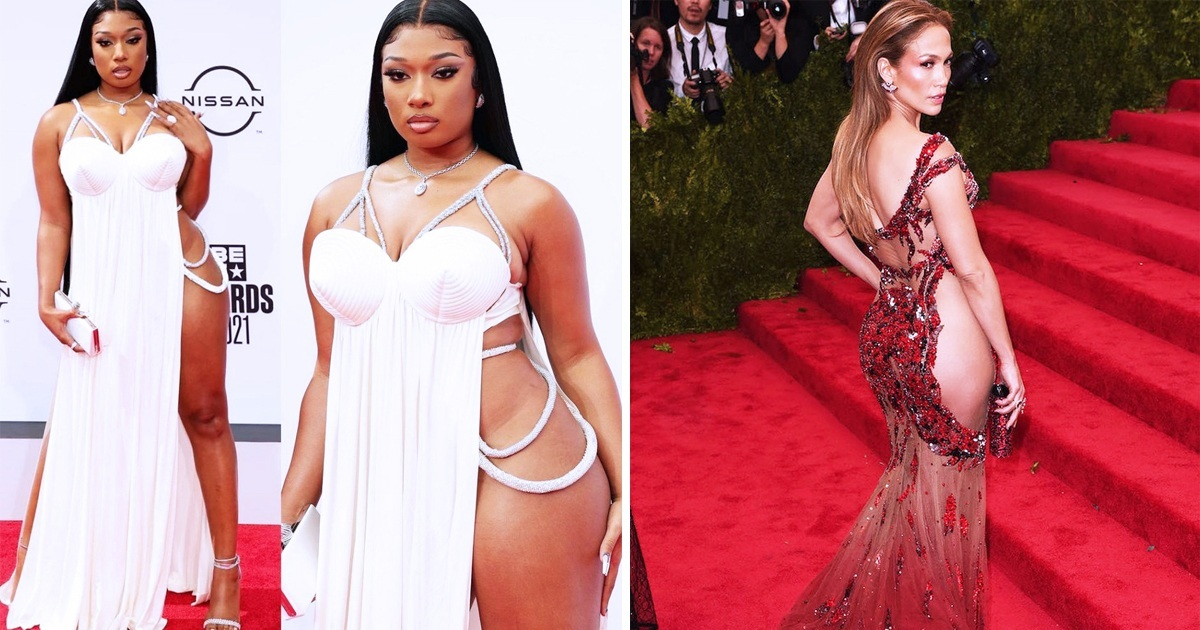 11 Most Daring Gowns Celebrities Have Ever Worn On The Red Carpet