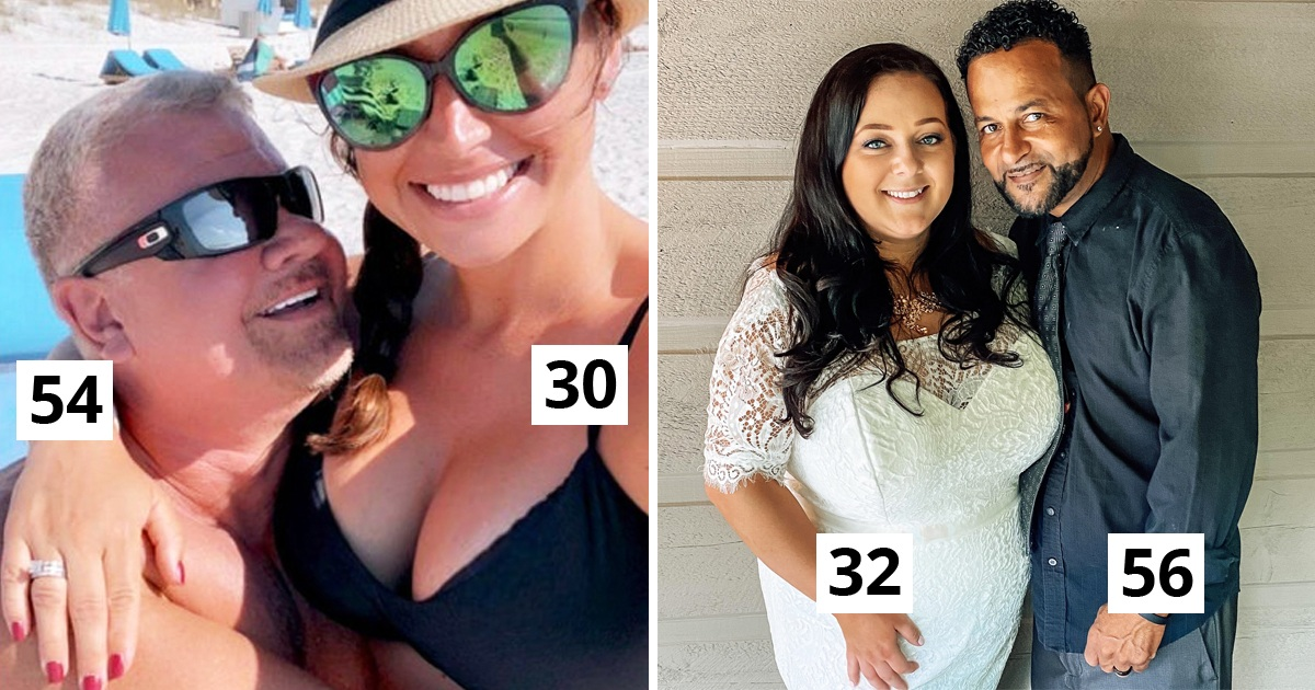 20 Age-Gap Couples That Show Off Love Exists Despite The Huge Difference